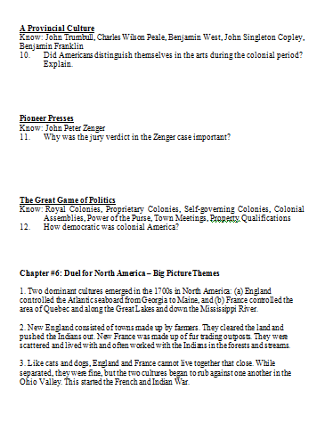 Apush ch 5 | Coursework Example - June 2019 - 2223 words